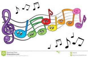 Cartoon Music Notes