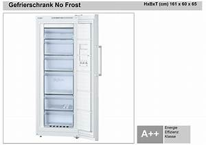 Bosch gefrierschrank no frost plan work elektrotechnik for Gefrierschrank no frost