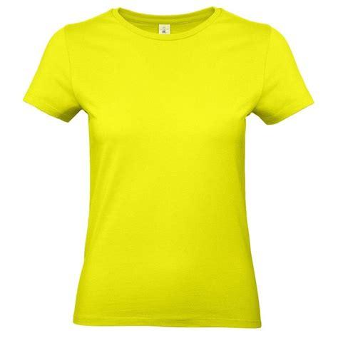 dames  shirt neon geel met ronde hals hobbymax de  hobby winkel