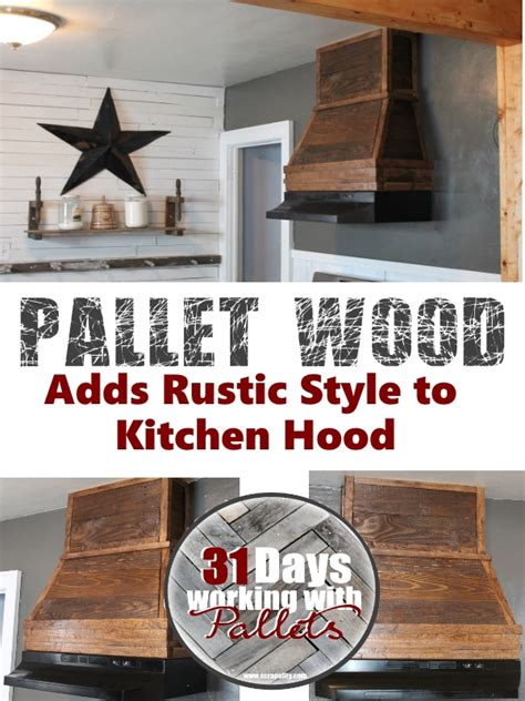 kitchen backsplash ideas pallet wood adds a rustic style to kitchen
