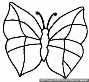 Dessin Facile Papillon : coloriage papillon facile faire dessin gratuit imprimer ~ Melissatoandfro.com Idées de Décoration
