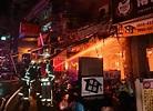 台中中華路夜市遭縱火延燒16戶 3民眾送醫警逮1嫌
