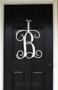 1000 images about frontyard entry door ideas decor on With black wooden monogram letters