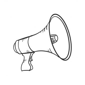 Megaphone Loudhailer Speaker 183 Free Vector Graphic On Pixabay Megaphone Vectors Photos And Psd Files Free