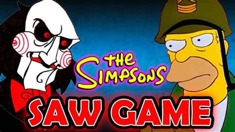 Jugar a bart simpson saw game. LOS SIMPSONS SAW GAME | Abuelo Simpson Saw Game Parte 2 ...