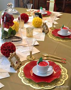 Beauty and the Beast Party Decorations and Food