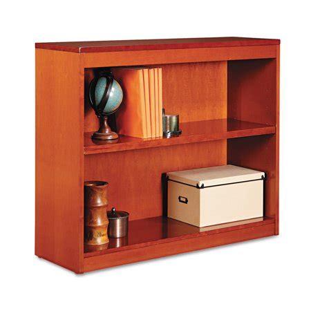 Alera Bookcase by Alera Square Corner Wood Bookcase Two Shelf 35 5 8w X 11
