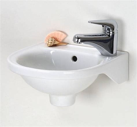 small wall mount bathroom sink small wall mounted sink a good choice for space