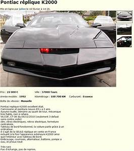 Leboncoin Des Voitures : kitt la voiture de la s rie k2000 en vente sur leboncoin ~ Medecine-chirurgie-esthetiques.com Avis de Voitures
