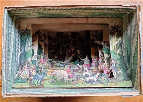Peepshow Cutouts For Peep Show Box Circa 1750 1830