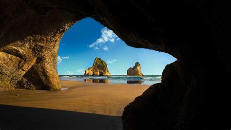 nature, Landscape, Clouds, Cave, Rock, Sea, Horizon ...