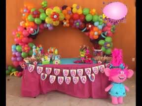 themed cake decorations de trolls decoracio adornos mesa de dulces 2017