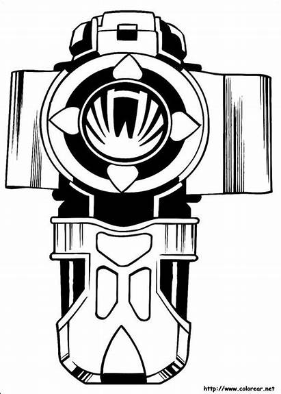 Power Coloring Ranger Pages Mask Rangers Printable