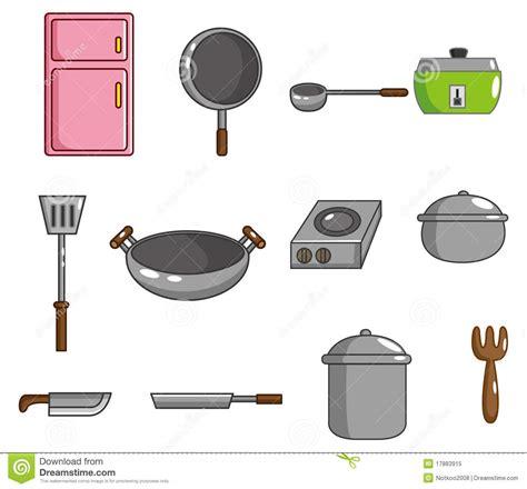 cartoon kitchen tool icon stock illustration image