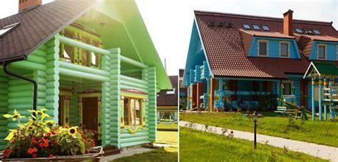 bright exterior paint colors adding fun  house designs