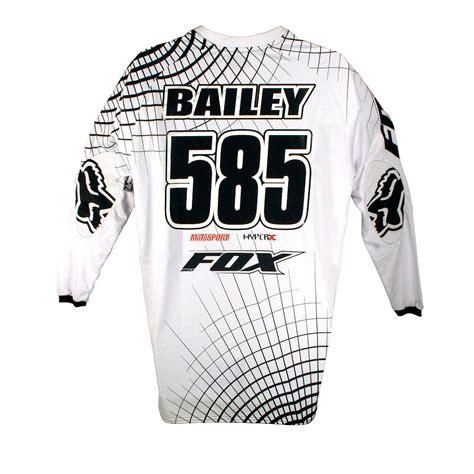 personalised motocross jersey fox racing 2017 360 combo creo motosport