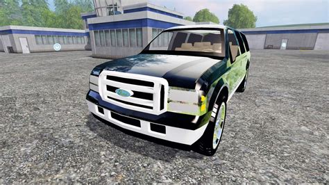 ford excursion  farming simulator