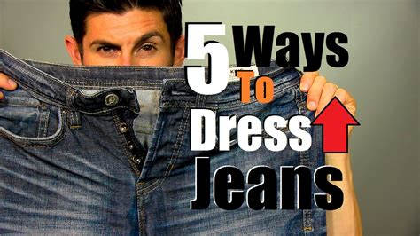 Five Ways To Dress Up Jeans