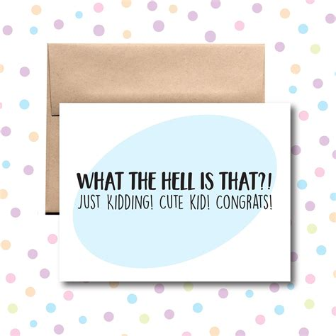 Congrats on Your Baby Card Little Dog Paper Company