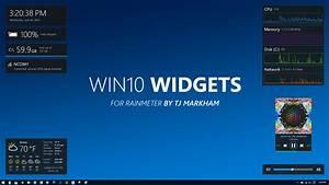 Win10 Widgets