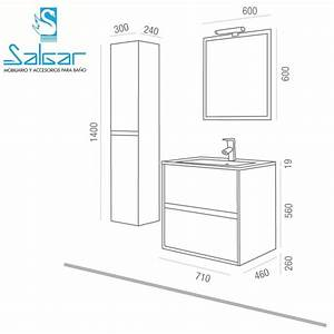dimensions meuble salle de bain With dimension miroir salle de bain
