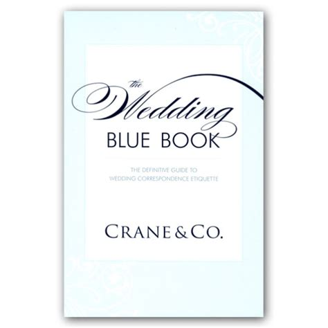 wedding etiquette blue book paperstyle
