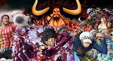 Luffy, Katakuri, Kid & Law Vs Kaido ⋆ Anime & Manga