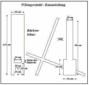Holzstuhl Selber Bauen : group of free celts bauanleitung wikinger steckstuhl ~ Lizthompson.info Haus und Dekorationen