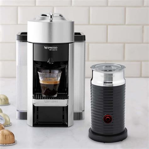We recognize how important coffee is to you, and our distribution center teams are working hard to prepare and ship your orders as quickly as. Nespresso Vertuo Coffee Maker & Espresso Machine by De'Longhi with Aeroccino   Williams Sonoma