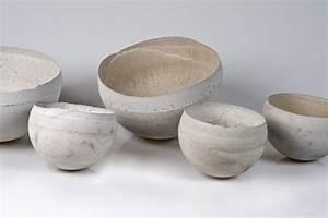 Schalen Aus Beton : hauchd nne schalen aus beton kunst design magazin ~ Lizthompson.info Haus und Dekorationen