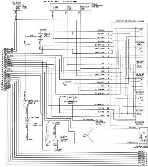 1994 Mustang Stereo Wiring Diagram by Tracing A Ccrm To Ecm Wire In A 95 Gt Ford Mustang
