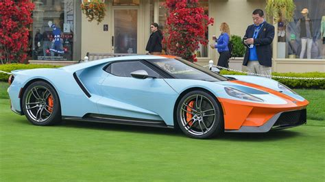 2019 Ford Gt by 2019 Ford Gt Heritage Edition With Gulf Livery Being
