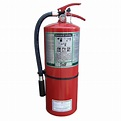 Fire extinguisher with FE36, 9.5 lbs, type ABC, ULC 1A-10BC.