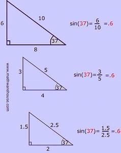Diagram Of Sine Ratios