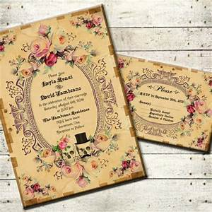 22 halloween wedding invitation templates free sample With free printable skull wedding invitations
