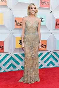 Carrie Underwood Goes Sheer Then Short At ACM Awards