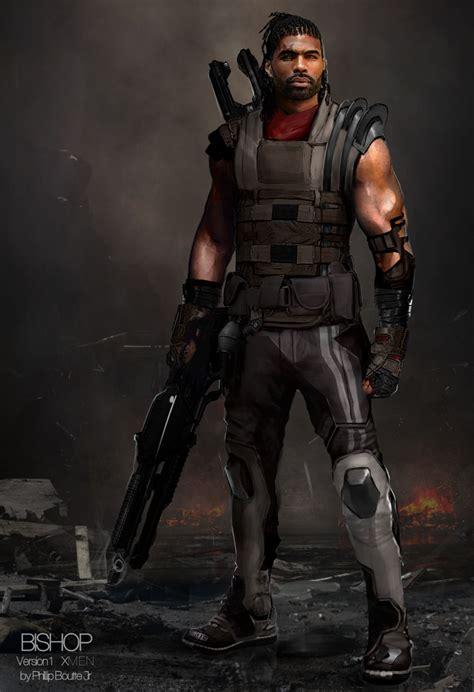 concept future past days bishop costume character jr phillip boutte characters xmen artwork jubilee dystopian reveals magneto guy superhero alternate