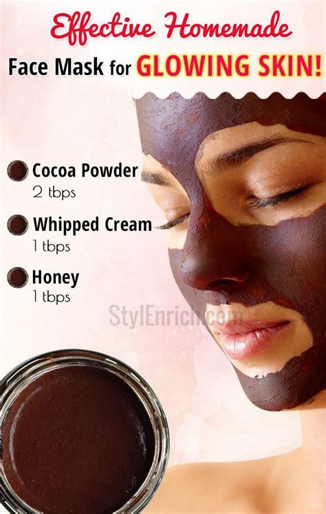 diy face mask  glowing skin