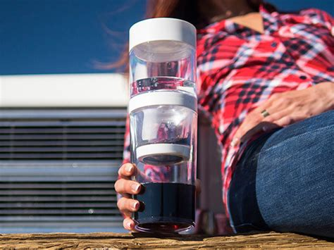 Cold brew isn't just hot coffee mixed with ice. Dripo, A Simple Three Step Slow Drip Cold Brew Coffee Maker That Converts Into a Lidded Tumbler