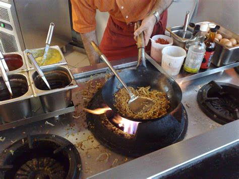 cuisine wok cooking at kevin warnock