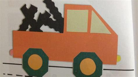 truck craft idea  kids crafts  worksheets  preschooltoddler  kindergarten