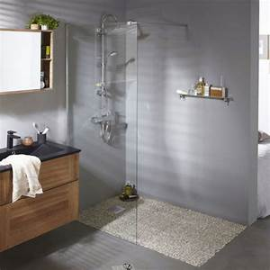 La douche à l'italienne sous tous les angles Habitatpresto