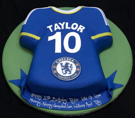 Chelsea Fc Birthday Cake  Cake  Pinterest Football