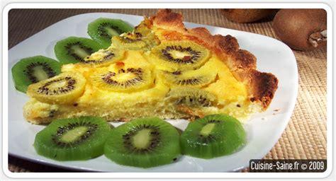 recette de tarte sans gluten aux kiwis blog cuisine