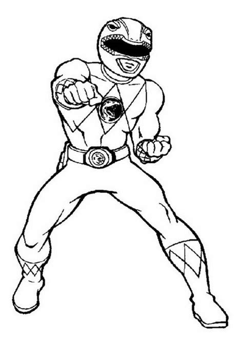 power rangers coloring pages bestofcoloringcom
