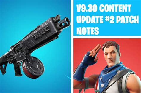 fortnite  patch notes update epic games add drum