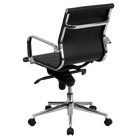 low back desk chair channel modern low back office chair eurway furniture