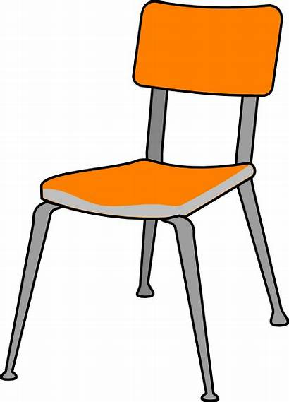 Chair Student Clip Clipart Clker Vector