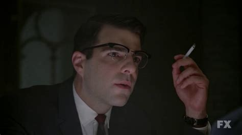 zachary quinto american horror story american horror story asylum 2x02 horror mirror