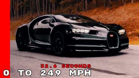 bugatti chiron    kmh  mph   seconds